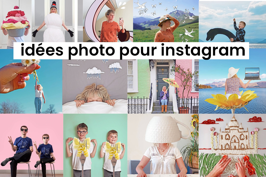 Illustration IDÉES PHOTO POUR INSTAGRAM